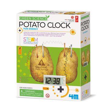 4M orologio con patate
