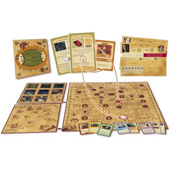 Asmodee - Harry Potter: Un Anno a Hogwarts